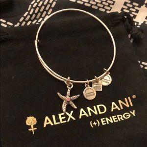 "Alex and Ani ""Arms of Strength"" Bangle"